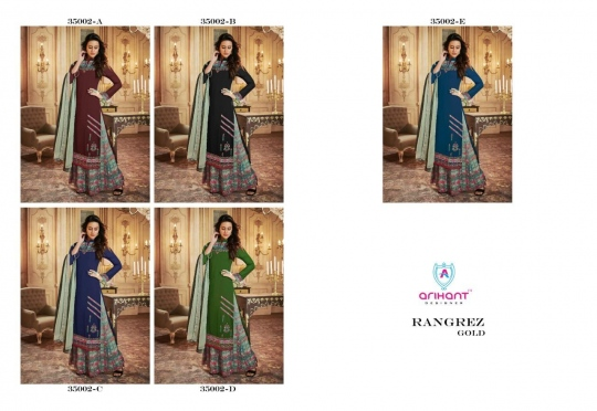 Rangrez Gold by Arihant Designer Full Catalog