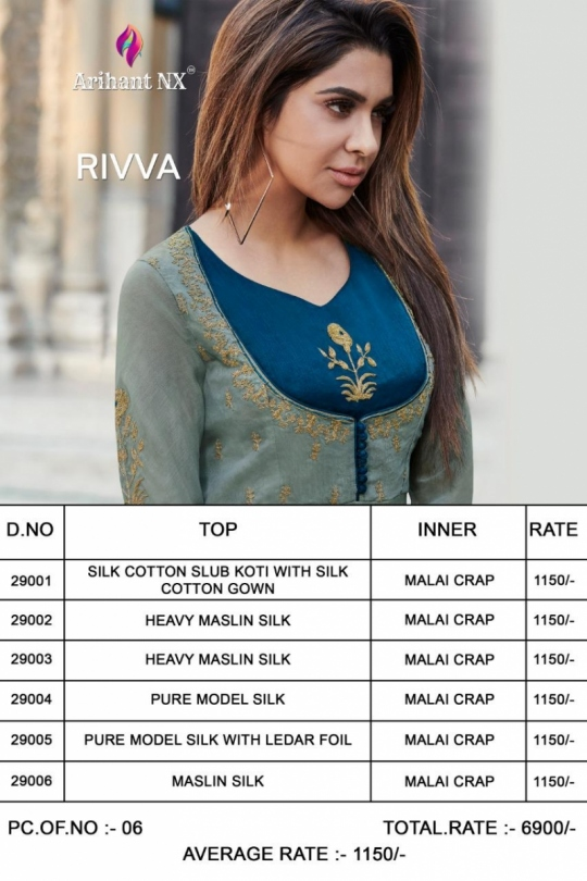 Rivaa by Arihant NX Details